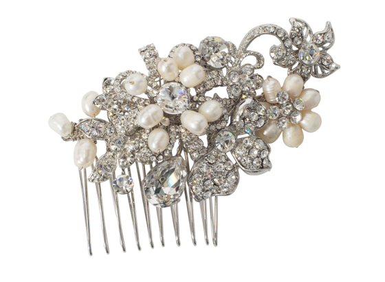 AntiqueSilverBridalHairComb2_£58_vintagestyler.co.uk